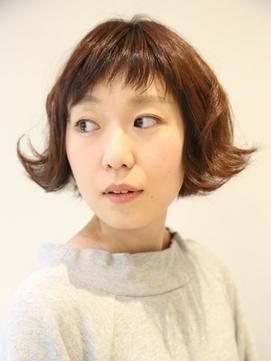 【アキ☆短い前髪で可愛さを☆ゆるいウェーブで今っぽさを】