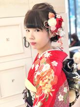 全国一位経験アリ☆振袖 袴 成人式 卒業式 ヘアアレンジ 成人式.26