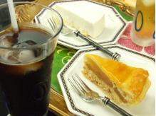 長時間滞在のお客様にケーキ&ドリンクサービス有!!