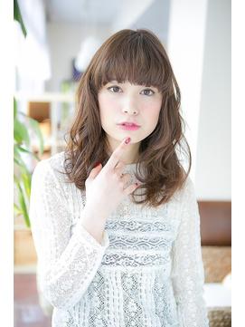 【changer 笹塚】大人かわいい 厚めバング 無造作 セミディ