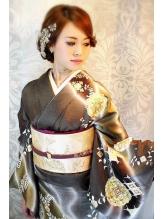 ★IRIS★綺麗系和装スタイル、下め26 婚活.1