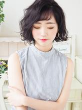 【ジュレベール 松田】 黒髪ナチュラル可愛い大人女子ボブ☆ 大人女子.54