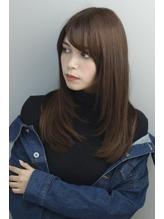 大人かわいいツヤツヤストレート【oggi otto 】.46