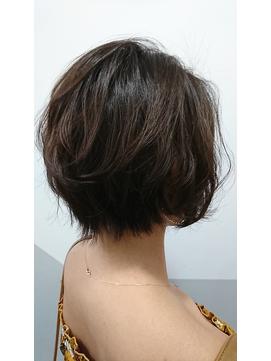 ジェンダーレス レトロボブ【miel hair blanc】