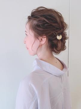 * 和装 arrange hair *  × かんざし