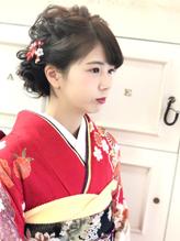 全国一位経験アリ☆振袖 袴 成人式 卒業式 ヘアアレンジ 成人式.51