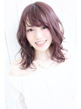 dee ピンクパープル×セミディ 女子力.28