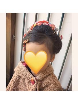 七五三の新日本髪◎【2】