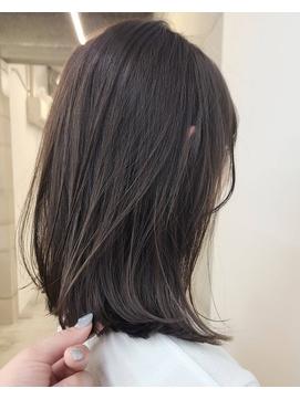 オリージュ オリーブベージュ 鎖骨ロブ モテ髪カタログ 20代30代
