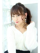 【ALBA千葉将大】ゆる巻きルーズポニーテール【三鷹】.27