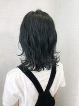 [ankhcross原宿yumi]ショートヘア→エクステでウルフスタイル.54