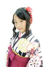卒業式 袴着付け ヘアセット 小学生.52