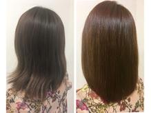 髪質改善トリートメントでパサついた髪を美髪に導きます。