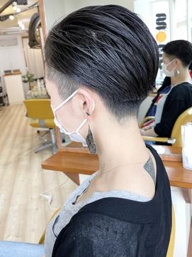 【morio成増/米村】黒髪 髪質改善 刈り上げショート