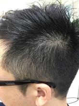 カット+炭酸スパ(頭皮ケア)+ヘッド&肩マッサージ+眉毛カット ¥5,170 脂もニオイもスッキリ【Rita川越】