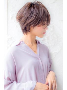 【店長 山野 俊貴】イメチェンうざバング前髪ショートヘア