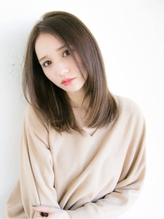 モカアッシュベージュ☆【春にオススメカラーはrelianで♪】 リラックスボブ.18