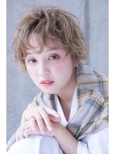 【ROJITHA】ショート×ハイトーンベージュ.14