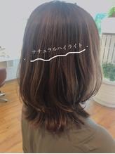 【VICS川口】ナチュラルハイライトで明るい白髪染め♪《チヒロ》.40