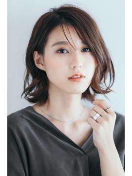 【Rire-リル銀座-】ひし形シースルーエアリーボブ☆