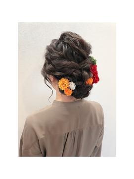 成人式×ヘアアレンジ