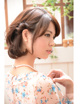 【miel hair bijoux】☆アシメアレンジ☆