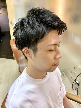 リクルート ショート 【HOMME HAIR4 KENSHiRO】