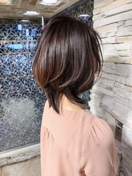 ◇髪質改善Cカーブレイヤーで大人可愛いウルフスタイル◇新宿