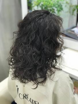キレイ髪ロング カーリーー髪質改善ー