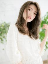 +dumbo与野+ 上品なモーブカラー艶ロングa-3.59