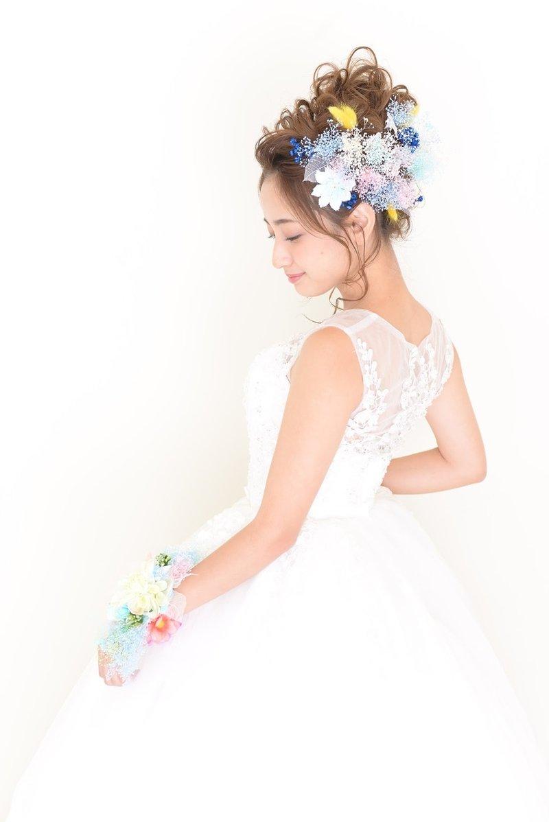 【2018・春】華やかなウェディングドレスに似合う髪型♡お色直しにもおすすめのへアアレンジ特集