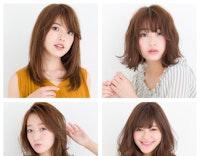 小顔になりたい、目を大きく見せたい…etc.顔周りのコンプレックスは髪型で解消できるんです!