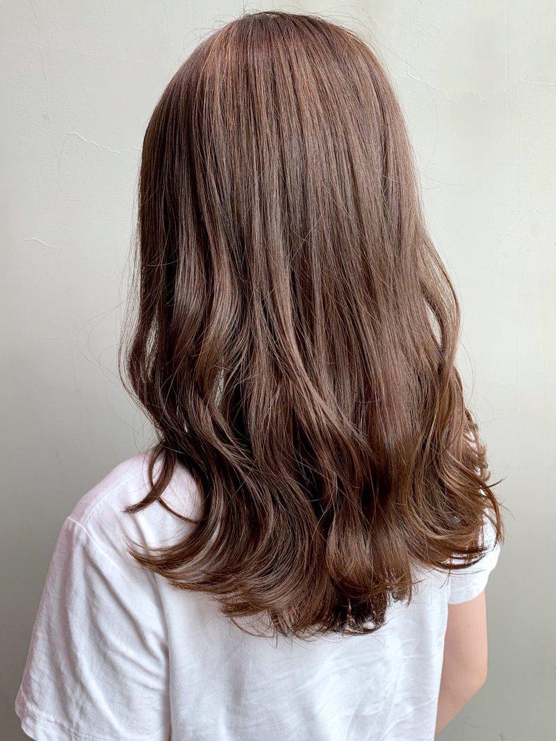 ミルク ティー ブラウン 【2021年春】どれが好み?ミルクティーブラウンのヘアスタイル・髪型...