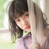 「透明感」×「暗髪」で夏のおしゃれガールに!