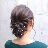 結婚式のお呼ばれ髪型カタログ|スタイリストが簡単セルフヘアアレンジを伝授します!