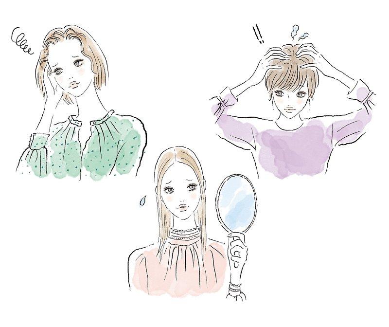 うねり髪、ペタンコ髪…エイジングヘアは、お悩み別に賢くケア!