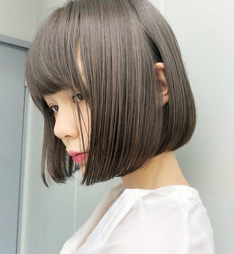 【2021春】ブリーチなしで垢抜けカラーに!ヘアカラー初心者さん必見、透明感ばっちりの髪色特集