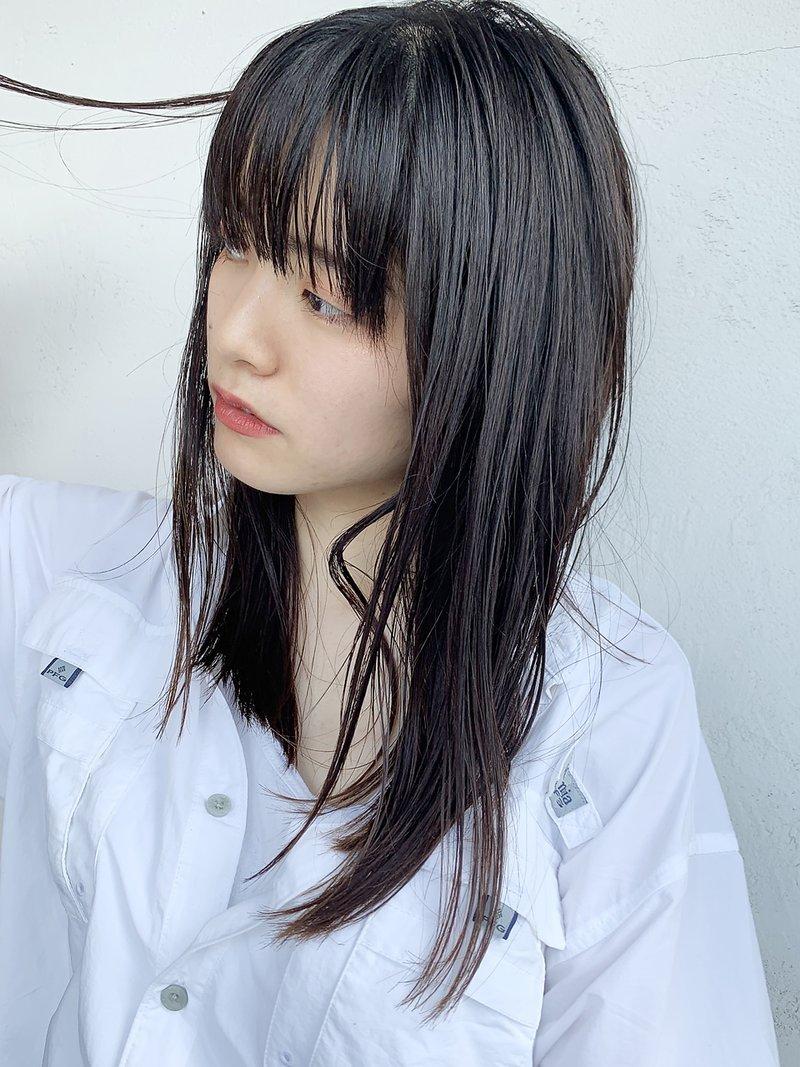 清楚ヘア代表♡黒髪ストレートで、愛され女子になるしかないっ!