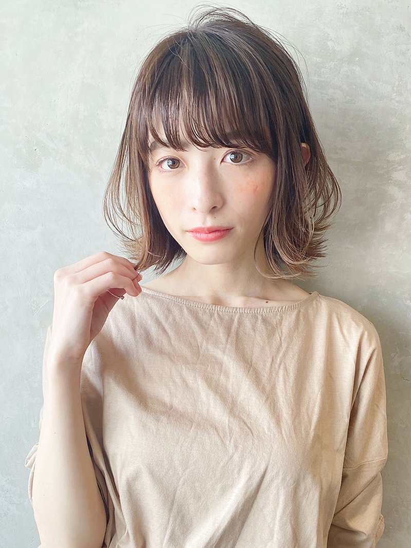 【ミディアム × ボブ】小顔かつおしゃれに変身!愛されスタイル特集