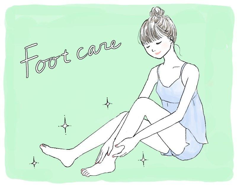 フットケアで足元キレイ!セルフ&サロンでできる、足のお悩み改善方法のサムネイル画像