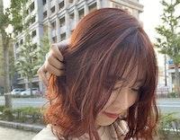 今来てるヘアカラーはオレンジ!SNSで大注目、組み合わせて自分色を見つけよう!
