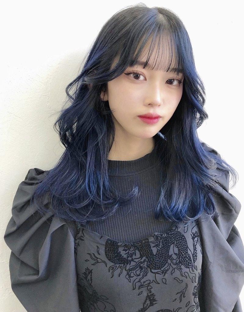 風 前髪 韓国 韓国人風前髪·顔まわりレイヤーをK