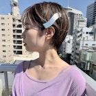 【LA PENSEE カホ】丸みショートスタイル