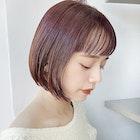 《ワンカールボブ×艶暖色カラー》