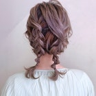 * arrange hair *  編み込みツインテール