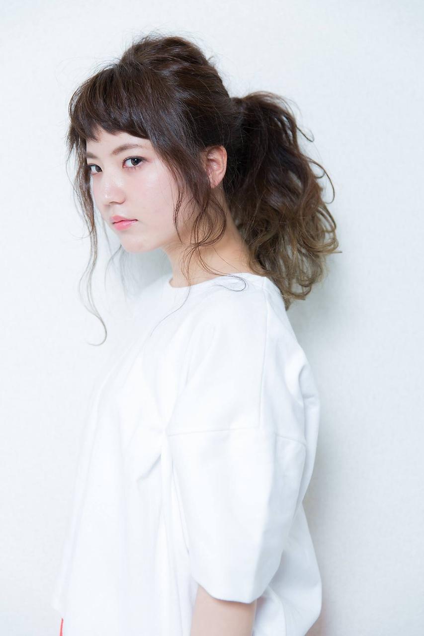 【MAULOA hair】ポニーテール グラデーション