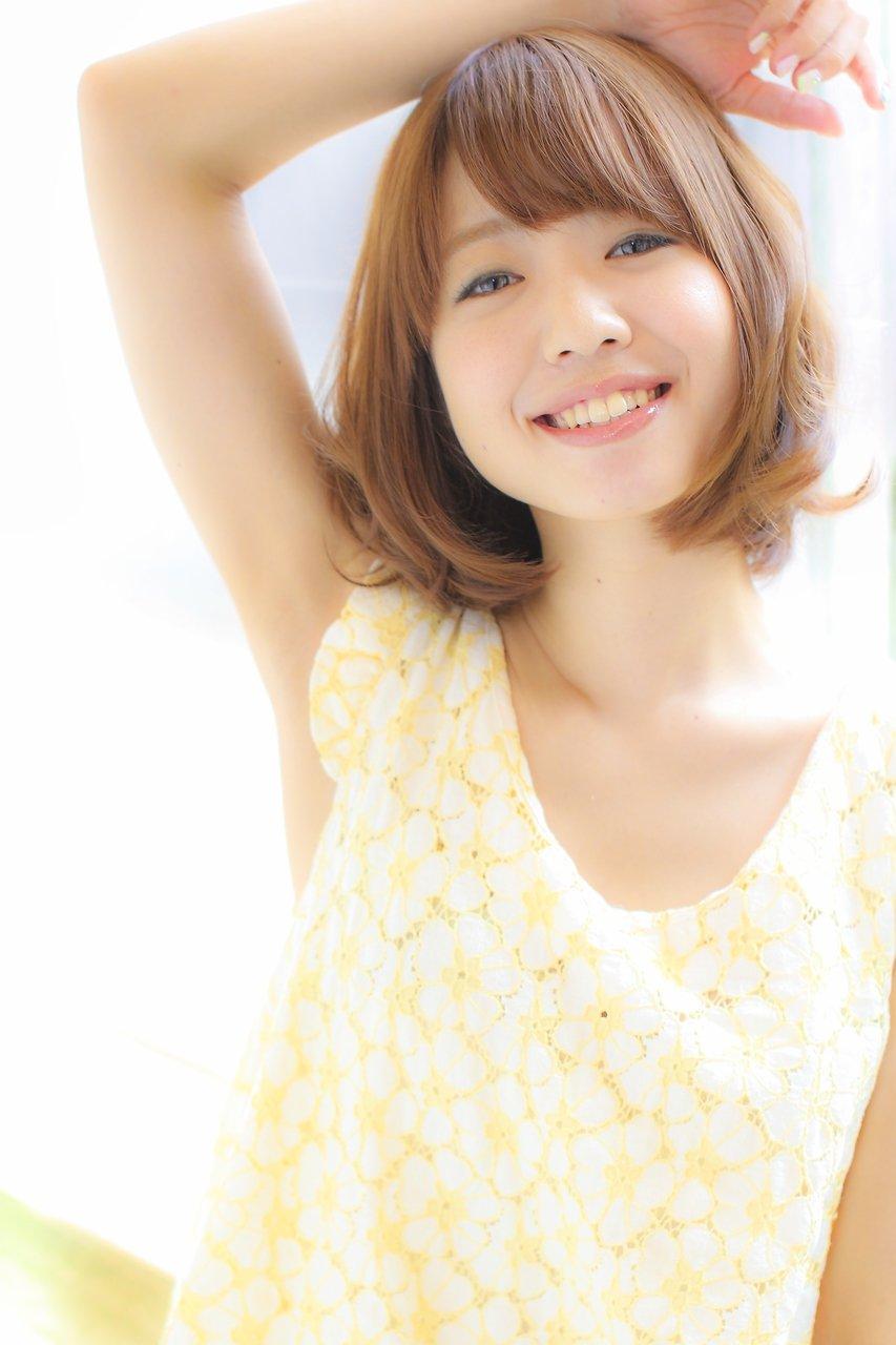 ☆GAFF表参道本店 池田06☆ベージュボブ×リラックスパーマ