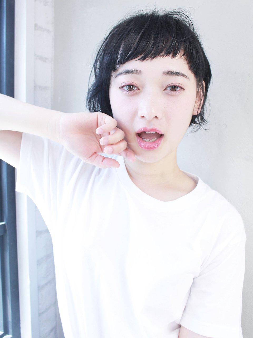 【ALBUM原2】アシメバングショート_91526