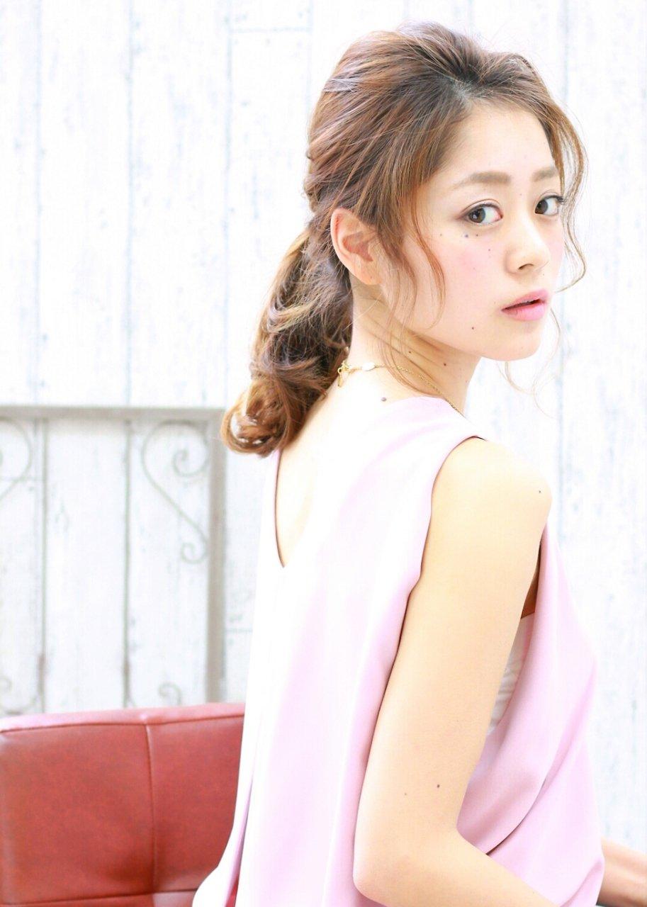 【H&M BLOOM  茨木】かんたんポニーテールアレンジ【前田 えみ】