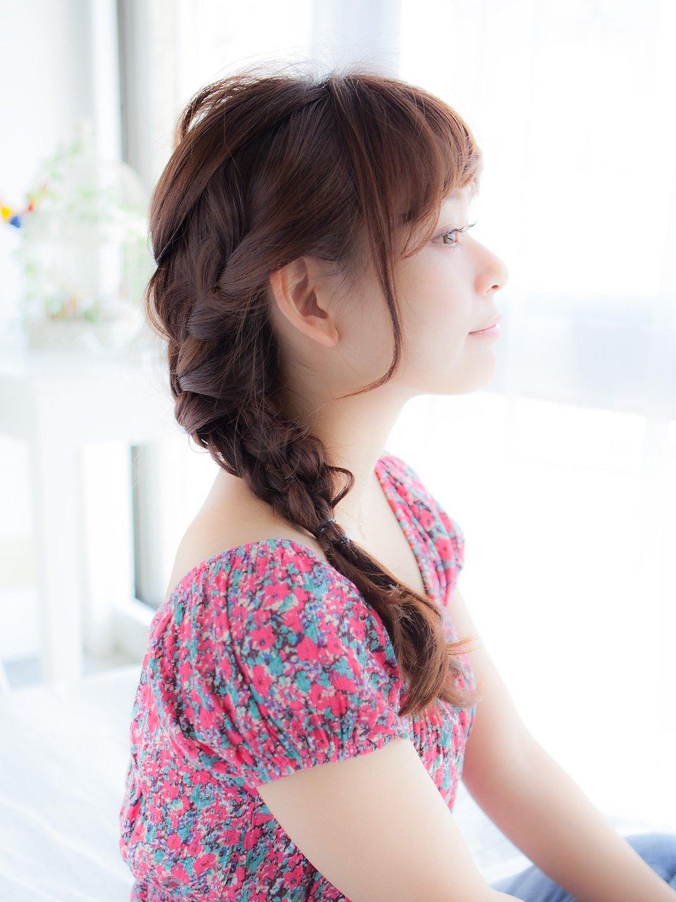 【PATIONN】公文啓敬 03-6447-1735 三つ編み簡単アレンジ2